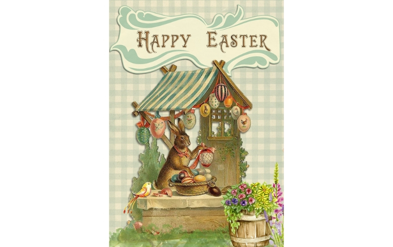 Wordless Wednesday Easter Card