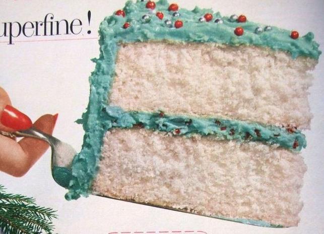 Swans Down Christmas Belle Cake