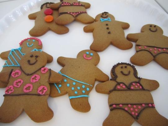 Seasonal Gingerbread People