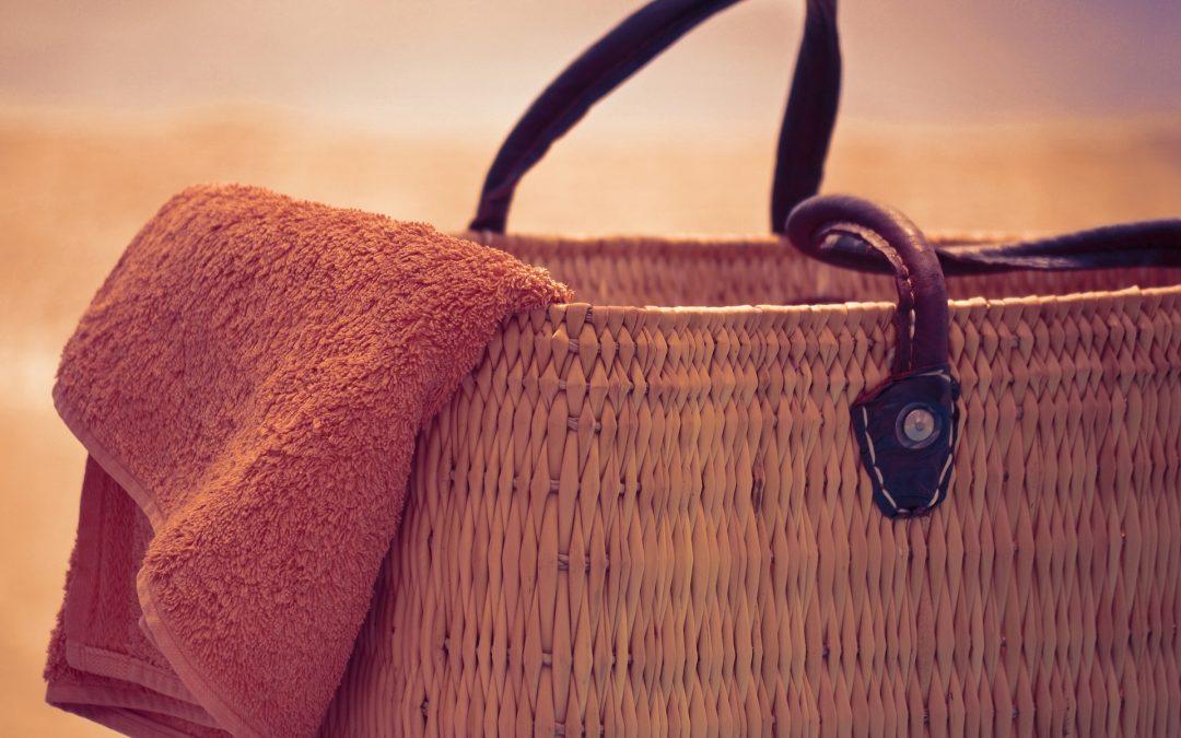 Beach bag for the car