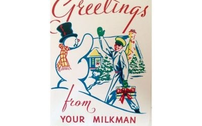 Greetings from your milkman