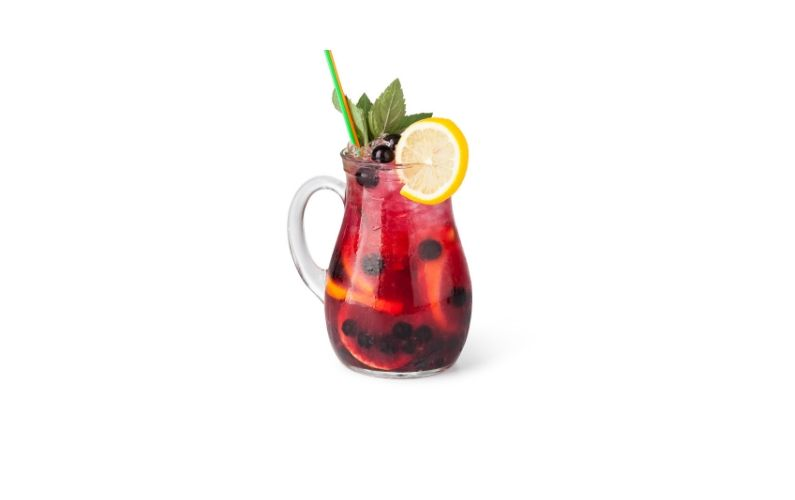 Blueberry Pomegranate Sangria