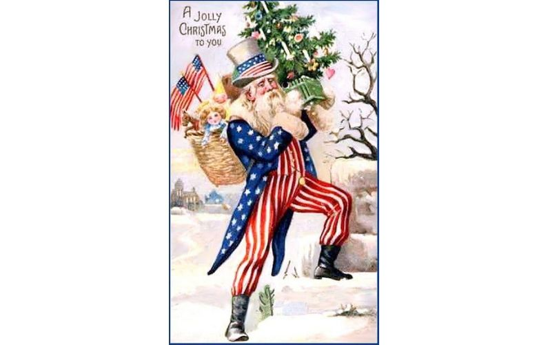 Uncle Sam Santa