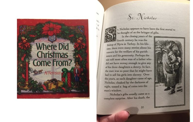 Where Did Christmas Come From? book