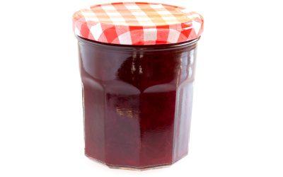 Strawberry-cranberry jam