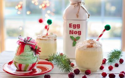 Eggnog tasting, and eggnog rice pudding for Instant Pot or stovetop