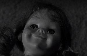 still shot from Living Doll episode of Twilight Zone