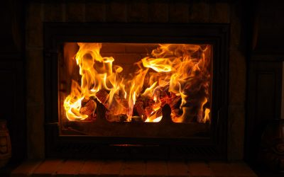 Clean your fireplace glass