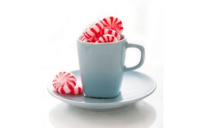 Add peppermint candy to your coffee
