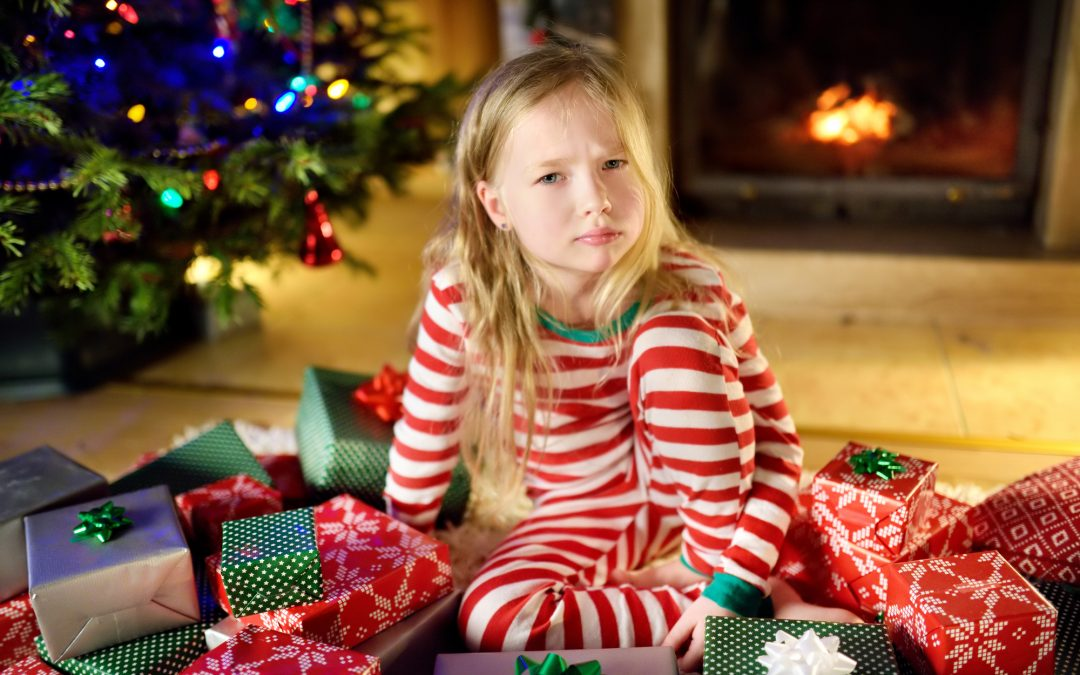 Consider setting some of your children's gifts aside for later