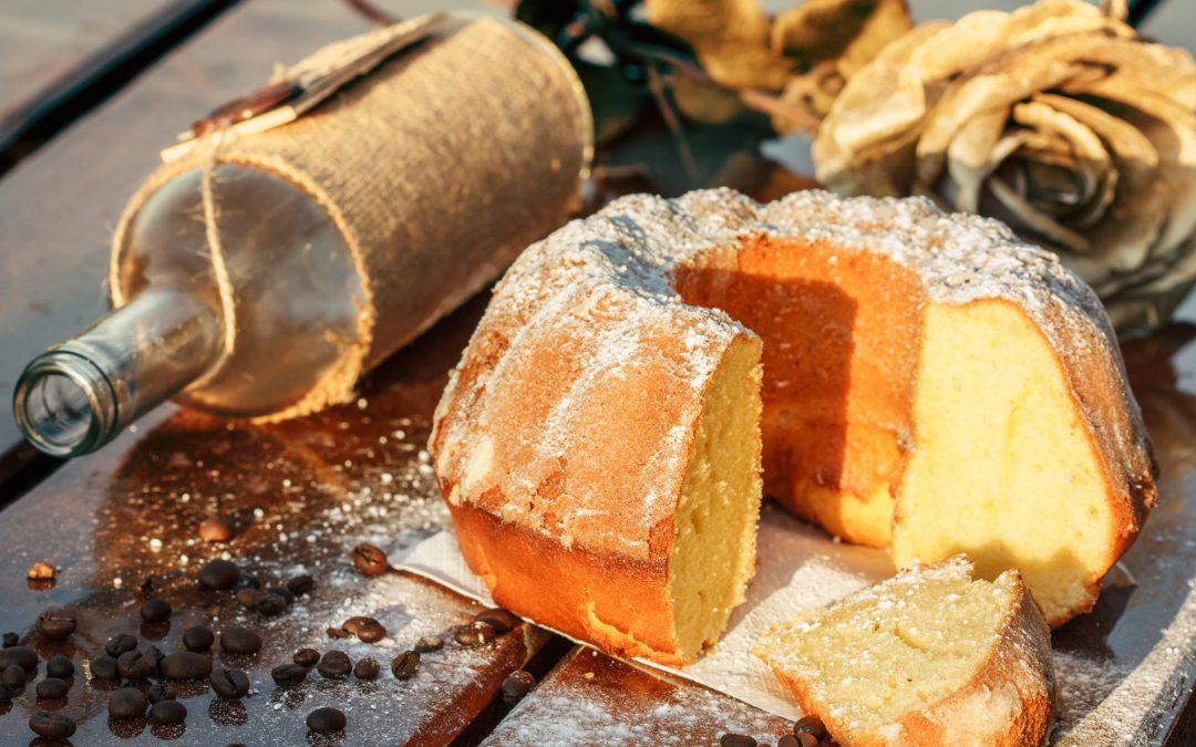 Winter solstice cake