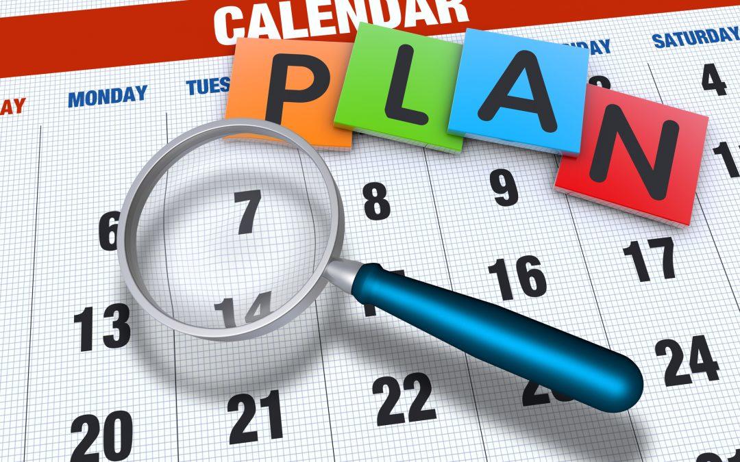 Plan your entire calendar