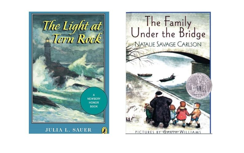 2 Newberry Honor books that take place at Christmas