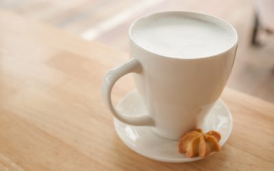 Vanilla milk (Snowman Cocoa)