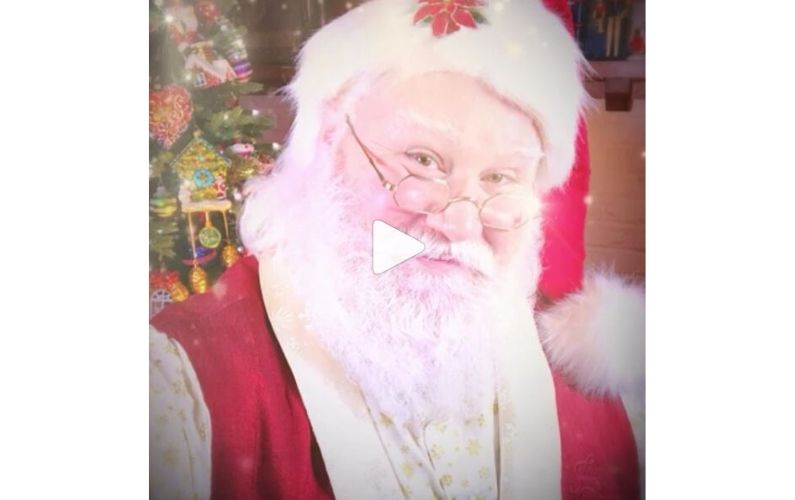 Please follow Santa J Claus on Instagram or TikTok