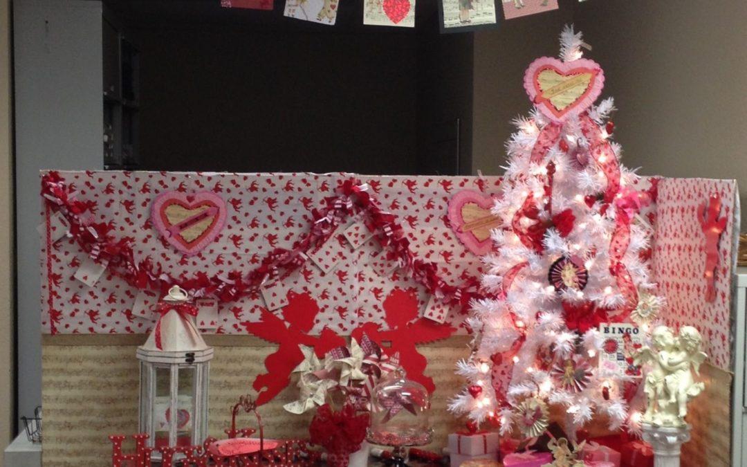 Valentine Christmas tree