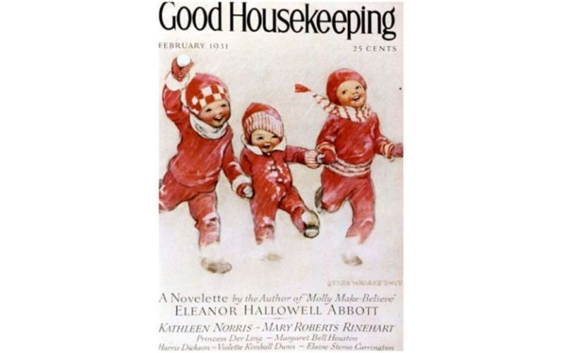 Feb 1931 Good Housekeeping Cover