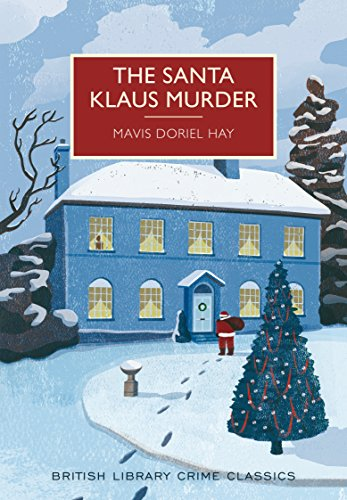 book cover for The Santa Klaus Murder