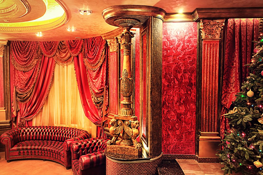 Photo of a luxurious interior.