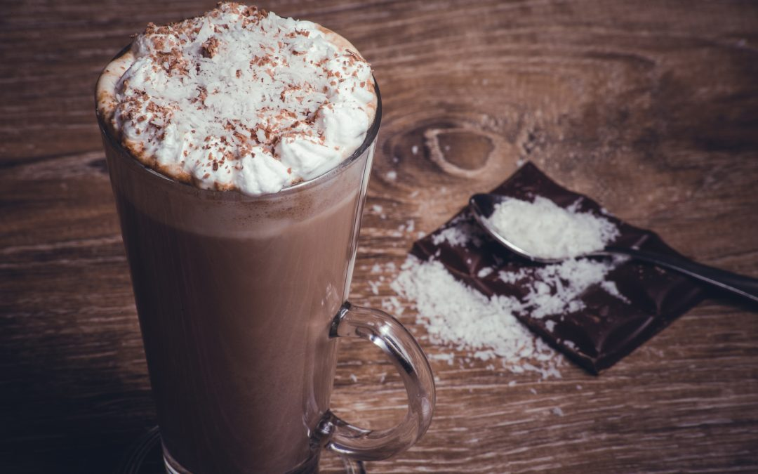 Frozen 'hot' chocolate