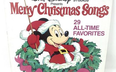 1979 Disney's Merry Christmas Songs album TV commercial