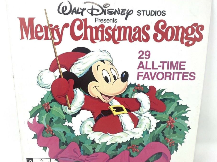 1979 Disney's Merry Christmas Songs album TV commercial